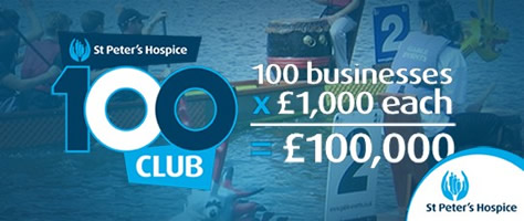 St Peters Hospice - 100 Club